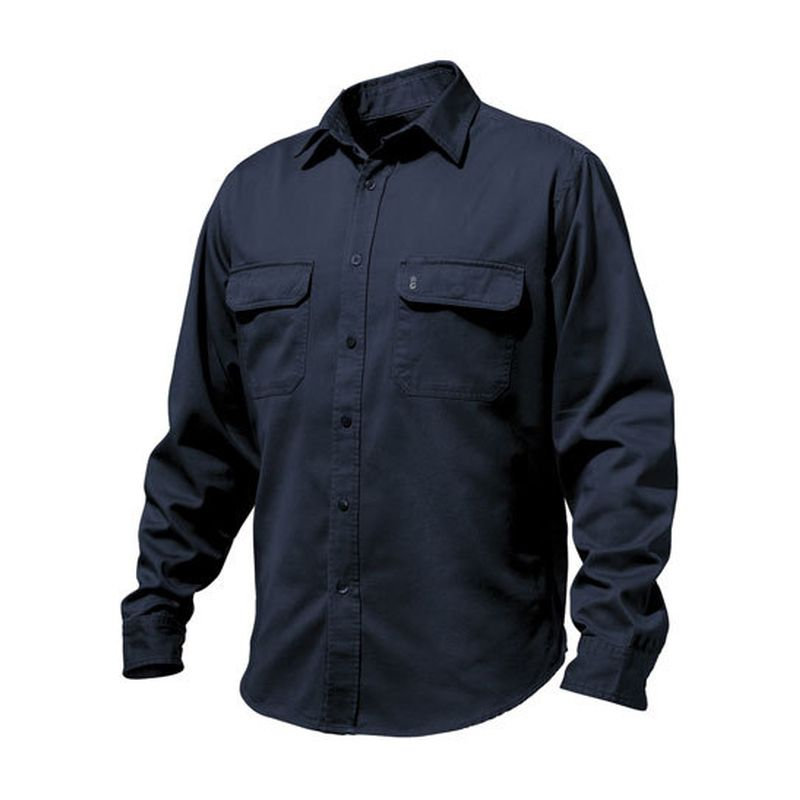 King Gee Men S Worn G S Work Shirt Long Sleeve K14200